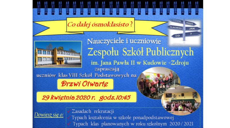 Oferta Edukacyjna rok szkolny 2020/2021 szkoły ponadpodstawowe